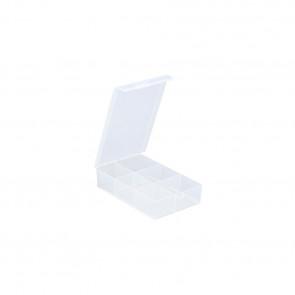 Allit 457166 Organizérová krabice EuroPlus Basic 12/6, transp.