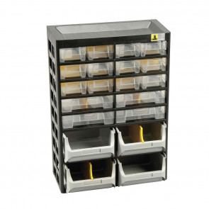 Allit 458160 Skříňka na malé části VarioPlus Basic> D