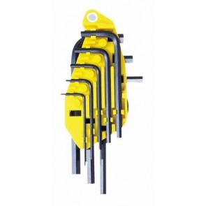 Sada šestihranných zástrčných klíčů v palcových mírách Stanley 0-69-252