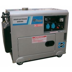DG6000SE naftová tichá elektrocentrála 230V / 5,5kW