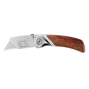 Stanley® zavírací nůž s dřevěnou střenkou Stanley 0-10-073