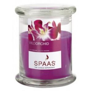 Spaas Sklo 90x110 Wild Orchid s víčkem vonná svíčka