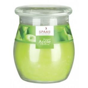Spaas Sklo 100x118 Apple s víčkem vonná svíčka