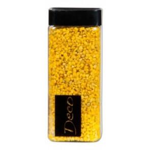 Štěrk 550ml dekorativní 2-3mm 825g žlutá