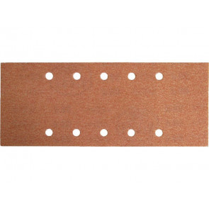 Papír brusný ERSTA, 10 otvorů, 115x280mm, P60