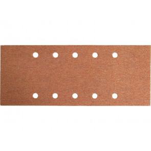Papír brusný ERSTA, 10 otvorů, 115x280mm, P120