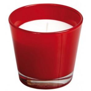 Spaas Sklo 90x80 červená svíčka