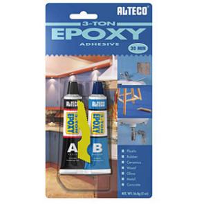 ALTECO 3-TON Epoxy Steel / 1500g set, dvousložkový 30min. epoxid s kovovým plnidlem