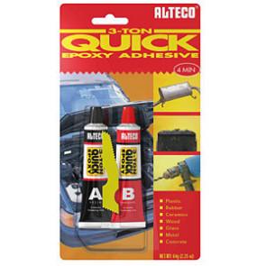 ALTECO 3-TON Quick Epoxy / 1500g set, dvousložkový 4min. epoxid s kovovým plnidlem