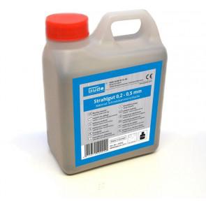 GÜDE tryskací materiál 1,5 kg, 0,2 - 0,5 mm