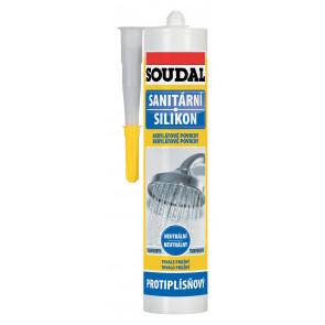 Soudal Sanitární neutrální silikon bílý 300ml
