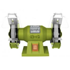 Bruska stolní dvoukotoučová, 150W, 125x12,7x š.16mm, EXTOL CRAFT, 410120