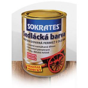 SOKRATES Sedlácká barva 0130 tmavá šedá 2kg