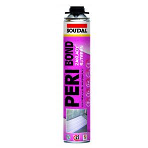 Soudal Peri BOND - lepiaca pena / lepidlo na polystyrén 14m2 / 750ml SOUDAL