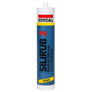 Soudal Silirub 2 šedý 310ml