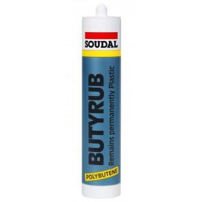Soudal Butyrub bílý 600ml