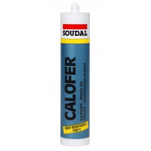 Soudal Calofer 310ml profi tmelenie krbov, kachlí, prestupov a škár odolávajúci až + 1500 ° C