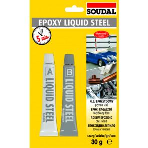 Soudal Araldite Liquid Steel 2x15ml tekutý kov