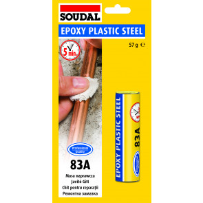 Soudal Araldite Plastic Steel 50g plastické lepidlo na kov