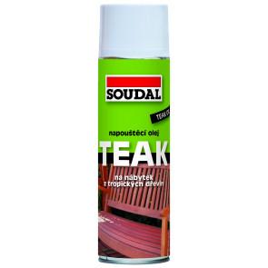 TEAK napúšťací olej 2,5 L transparent