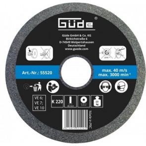 GÜDE brusný kotouč pro mokré broušení 200 x 40 x 20 mm/K220