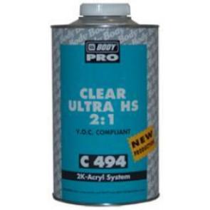 Body - 494 CLEAR LAK UHS - Transparentní UHS lak
