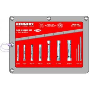 Sada kľúčov rúrkových 7ks 6-19mm KENNEDY