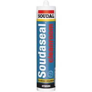 Soudal Soudaseal CLEANROOM 290ml pružné lepidlo a tmel do priestorov s vysokými nárokmi hygienickú čistotu