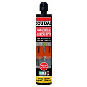 Soudal Soudafix VE-SF 380ml chemická kotva malta vynylester
