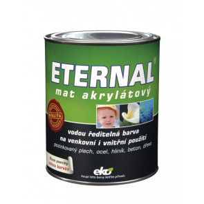 ETERNAL mat akrylátový 0,7 kg světle hnědá 019