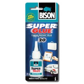 BISON SUPER GLUE INDUSTRY 20 ml