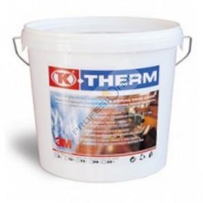 TK- Therm - 5 L  termoizolační stěrka je ideálním materiálem pro vnitřní zateplení stěn a podlah ve stavebnictví