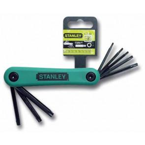 8dílná nožová sada zástrčných klíčů TORX® Stanley 4-69-263
