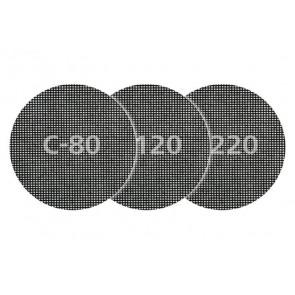 Wolfcraft 8464000 5 x samodržná mřížková plátna