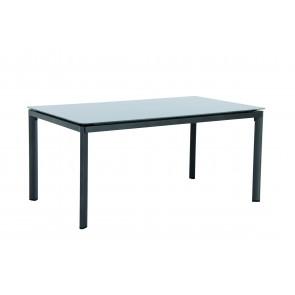 Garland Alutapo stůl s hliníkovým rámem a skleněnou deskou Creatop lite