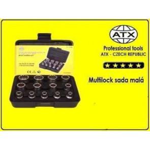 Profi sada nástrčných klíčů multi lock - hvězdy (malá sada) - ATX
