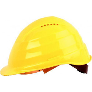 Ochranná prilba profesionálne, žltá