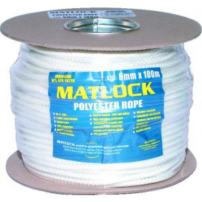 Lano polyesterové 6 mm x 100 m