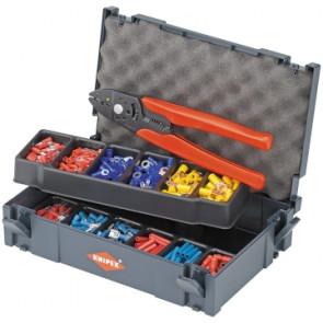 KNIPEX Súprava káblových koncoviek s kliešťami 01 979001