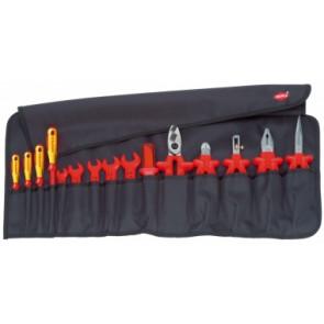 KNIPEX Zvinovací taška, 15-dielna 1000V 989913