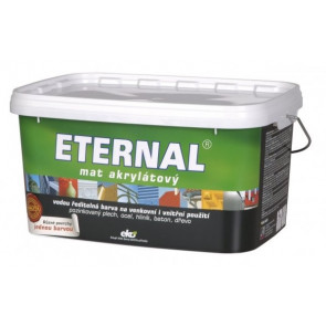 ETERNAL mat akrylátový 5 kg tmavě hnědá 09