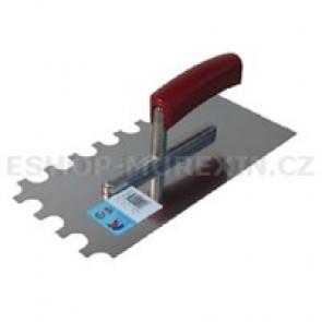 MUREXIN Hladítko nerez půlkulaté zuby R12 28x13mm