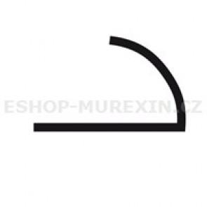 MUREXIN Profil oblý  MR 8 Al přírodní elox
