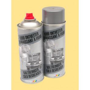 MOTIP Odmašťovač za studena s výbornými rozpouštěcími schopnostmi na odstranění pólových konzervačních prostředků jako jsou olej