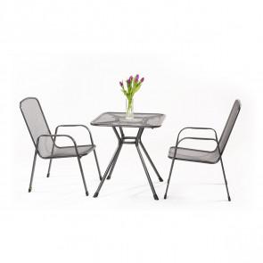 Garland Sabi 2+ sestava nábytku z tahokovu (2x židle Savoy, 1x stůl Tavio)