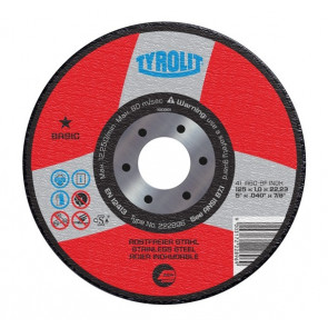 TYROLIT řezný kotouč 115x1x22,23 A60-BF INOX