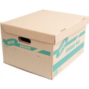 Krabice archivní hnědá 10ks