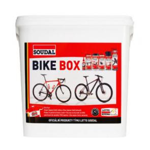 SOUDAL BIKE BOX sada produktů na čistění a údržbu kol