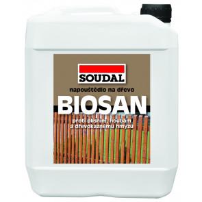Soudal BIOSAN ochranné napouštědlo transparent 5kg
