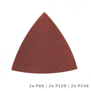 Dremel DREMEL® Multi-Max brusný papír na dřevo (P60, P120 aP240)